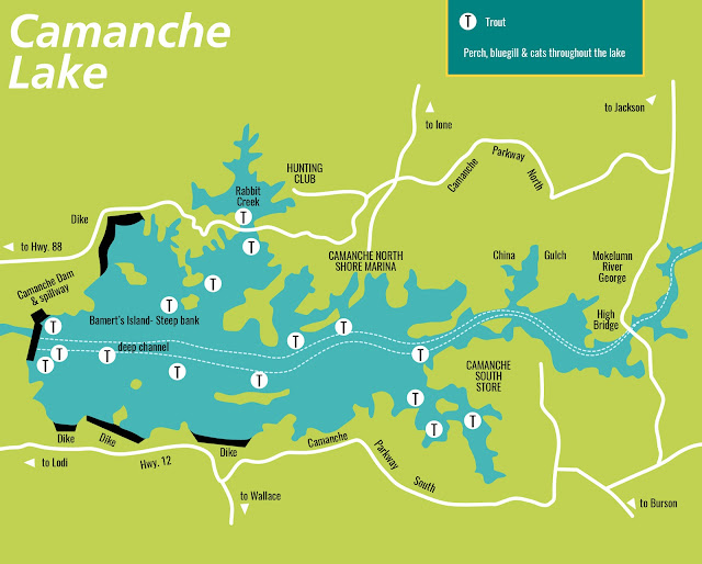 BEST AREAS, WHERE TO FISH, CAMPING AND MARINAS