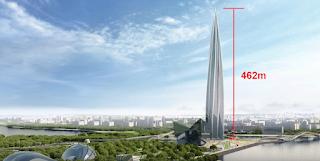 Το ψηλότερο κτίριο της Ευρώπης έχει ύψος 462 μέτρα