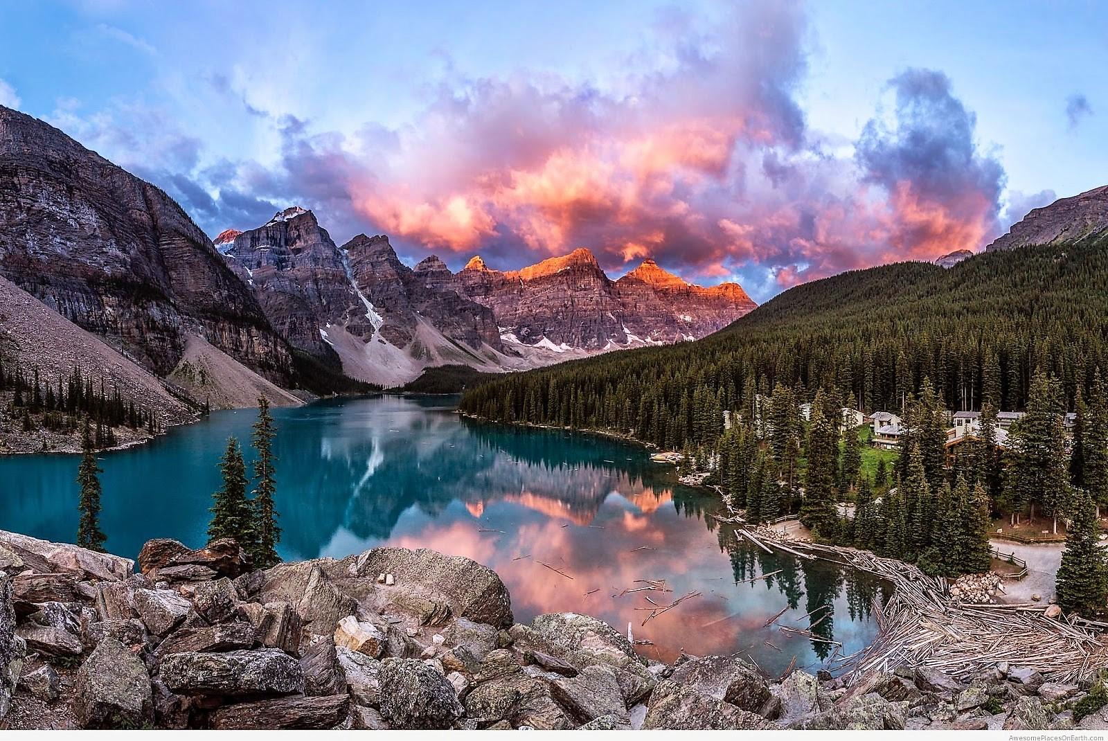 5 Five 5 Banff National Park Alberta Canada