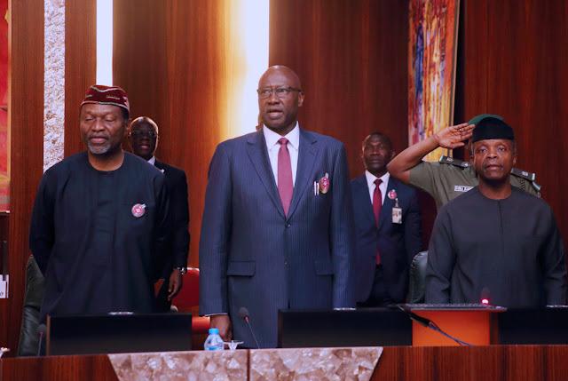 Osinbajo presides over NEC meeting