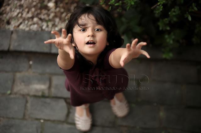 idéias diferentes para fotografar crianças
