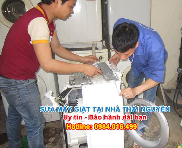 Sửa chữa máy giặt tại nhà Thái Nguyên