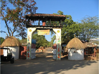 Shilpgram, Shilpgram Udaipur, Entrance Gate of Shilpgram Village, Heritage Sites in Udaipur, Heritage of India, Indian Heritage, Udaipur Tourism, Tourist Information of Udaipur, Udaipur Tourist Information, Udaipur Tourist Attractions