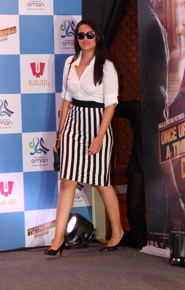 Tamil Actress Sonakshi Sinha New Photo Shoot In White Dress