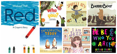 25 books about diversity, self-acceptance, and being transgender or gender non-conforming for younger readers, transgender children's books