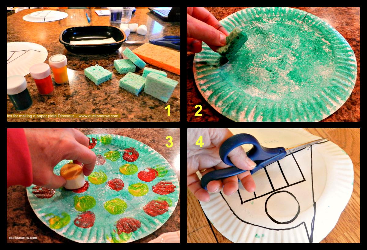 Letter D Is For Dinosaur Preschool Craft