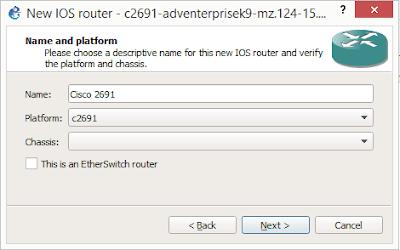 Memberikan nama untuk routernya