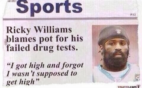 baseball player fails drug tests funny fail forgot to not get high because of being stoned not hank aaron 715