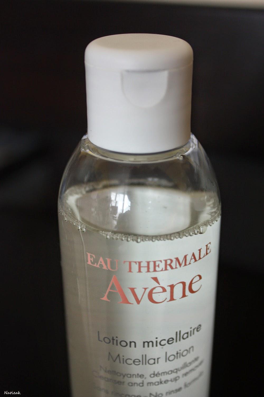 La lotion micellaire d'Avène