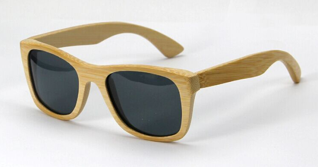gafas de madera bamboo