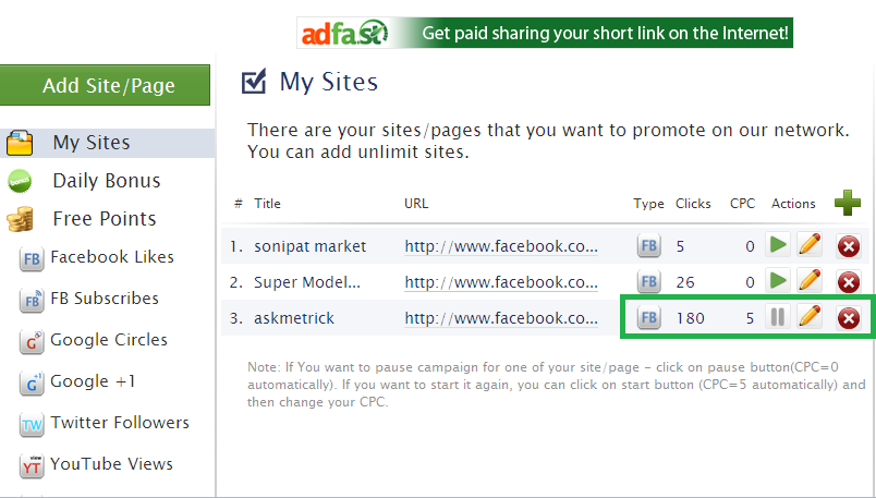 How To Increse Your Facebook Likes, FB Subscribes, Google