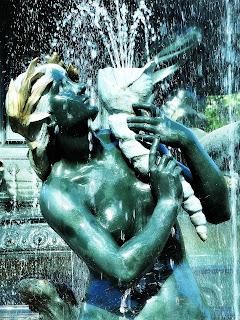 Deusa na Fuente de Los Continentes - Parque General San Martín, Mendoza