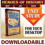 Orville Wright: The Flyer - Heroes of History - A Homeschool Coffee Break review of the book and unit study from YWAM Publishing @ kympossibleblog.blogspot.com
