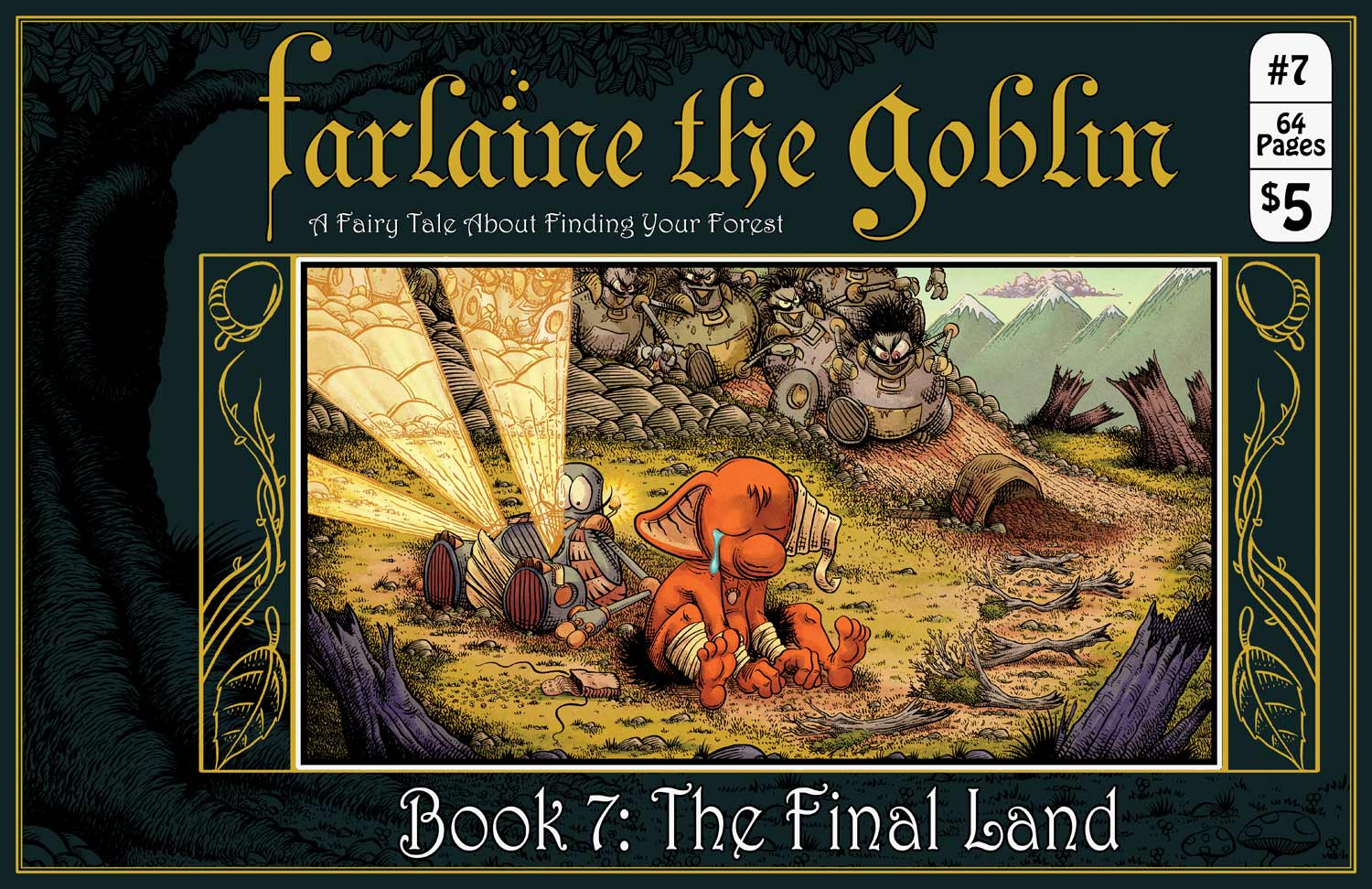 Farlaine the Goblin ~ A Fairy Tale About Finding Your Forest