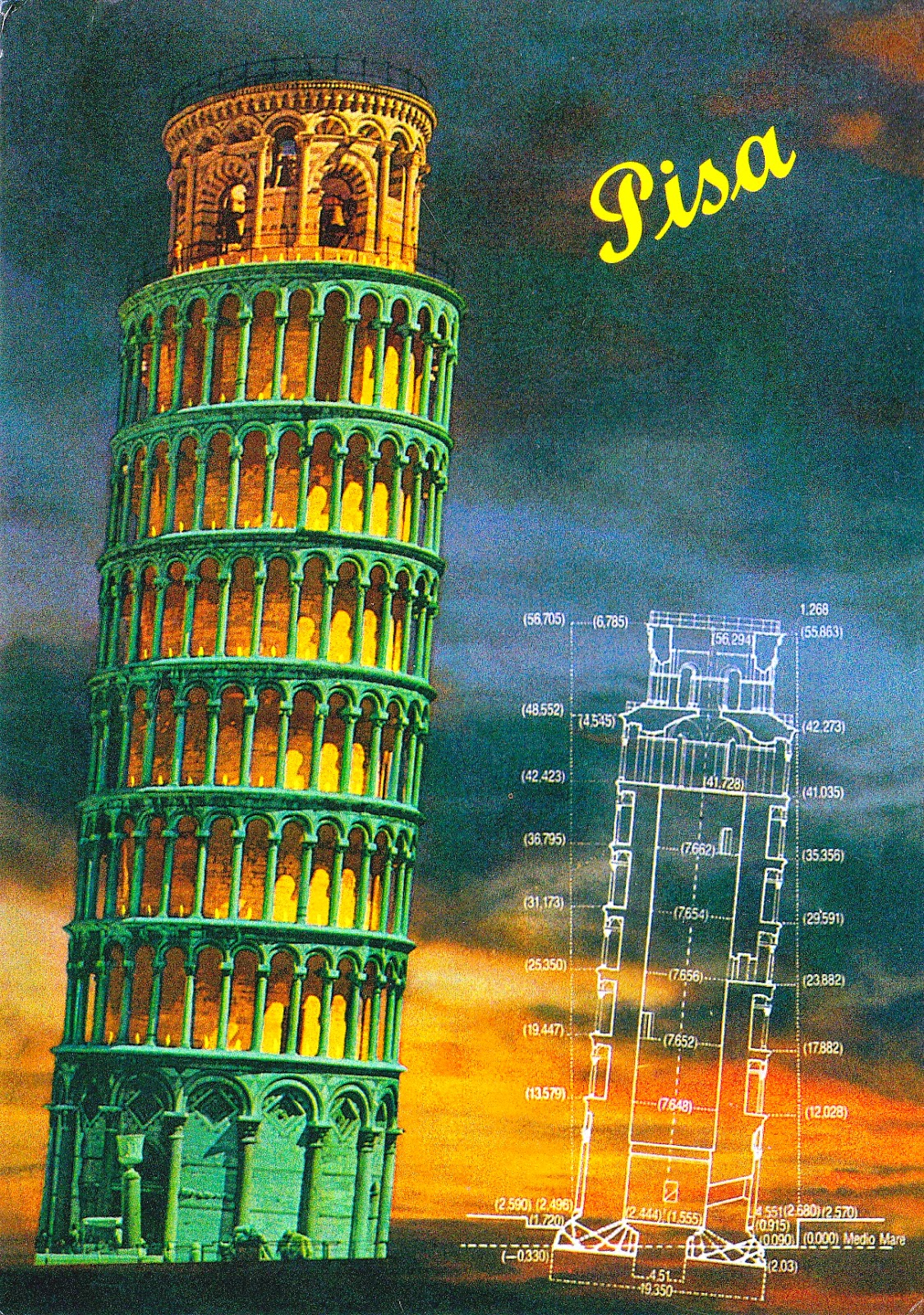 Connections to the World: L is for Leaning Tower of Pisa ...