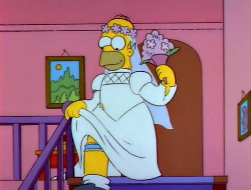 Homero vestido de novia latino dating