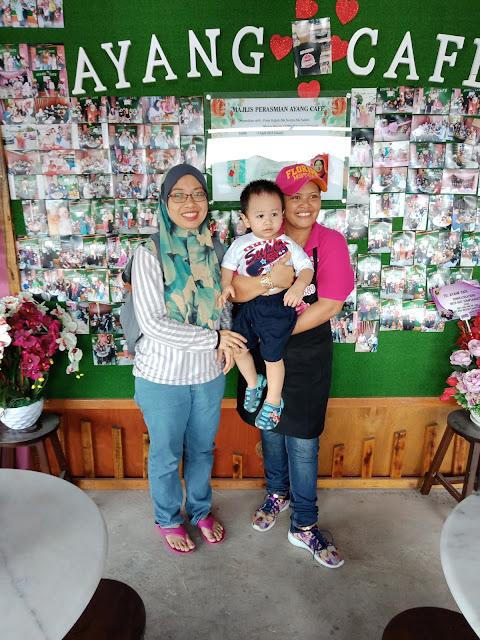 Ayang Cafe Penuh 'Kasih Sayang' Kini Dibuka Berdekatan Makam Diraja Langgar Kota Bharu