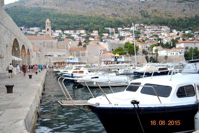port w Dubrovniku