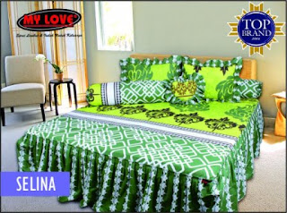 sprei rumbai my love selina