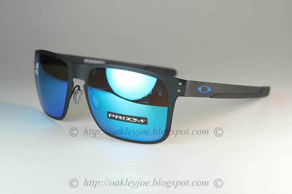 21810e88e5 oo4123-1055 Holbrook Metal MotoGP matte black + prizm sapphire  295 xmas  sale  250!!! lens pre coated with Oakley hydrophobic nano solution