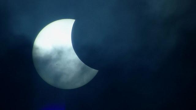 Eclipse solar 2017 - São Paulo
