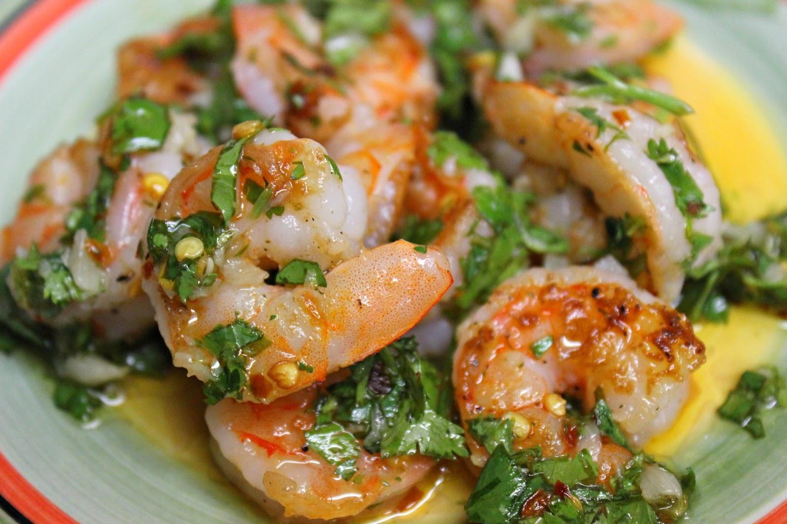 Grilled Shrimp With Garlic Cilantro Sauce A Bountiful Love