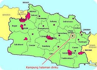 peta kota majalengka