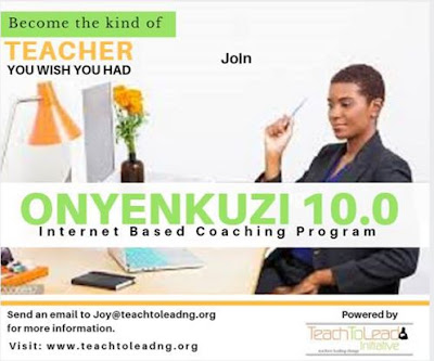 Teacher Training Alert- OONYENKUZI 10.0