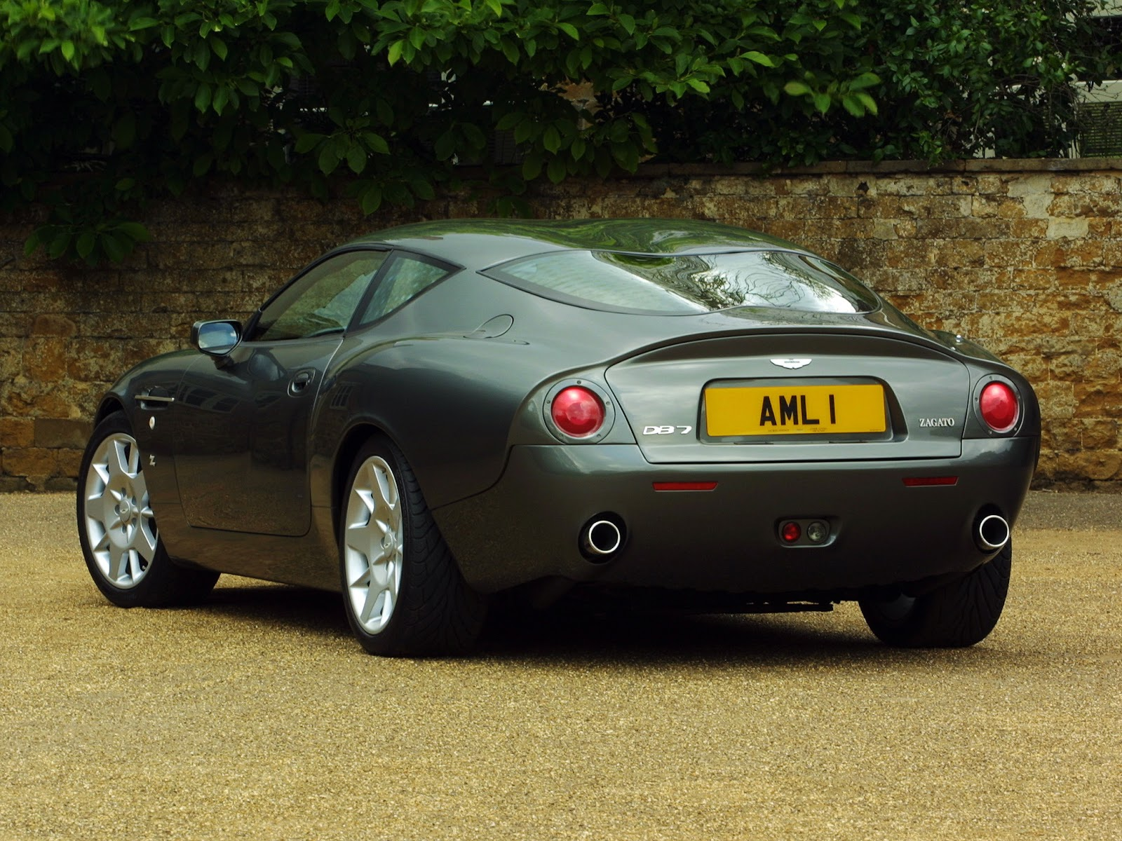 FAB WHEELS DIGEST (F.W.D.): 2003 Aston Martin DB7 Zagato