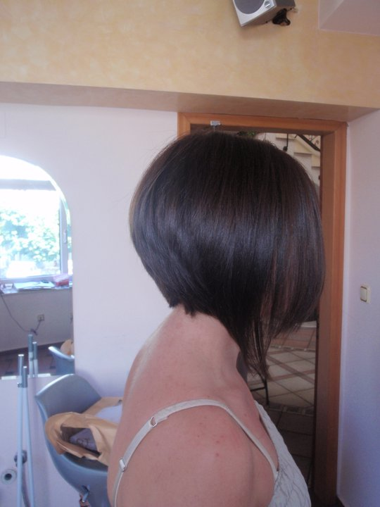 Celebrity Hairstyle Angled Bobs