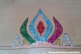 Corona reina de hielo