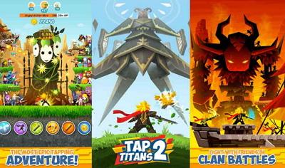 Download Game Tap Titans 2 APK MOD Unlimited Money