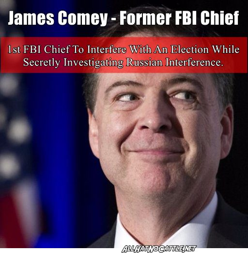 Trump Won T Block Comey S Testimony To Congress: All Hat No Cattle: Follow The Leaks