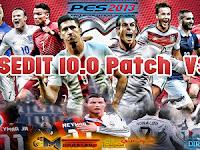 Patch PES 2013 Terbaru dari PESEdit 10.0 V3.0