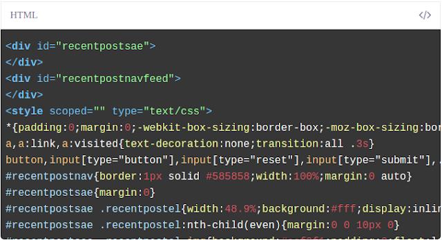 Screenshot Contoh Syntax Highlighter