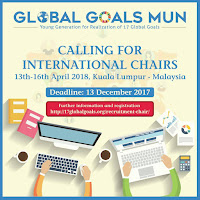 Global Goals Model United Nations (Global Goals MUN) 2018