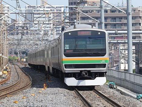 【快速じゃないのに】E231系の快速 新宿行き(2018年 渋谷駅高架化工事に伴う運行)