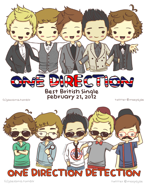 chibi one direction coloring pages - photo#27