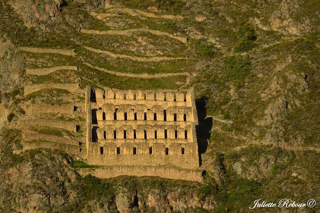 Ruines INcas, Ollantaytambo, Pérou