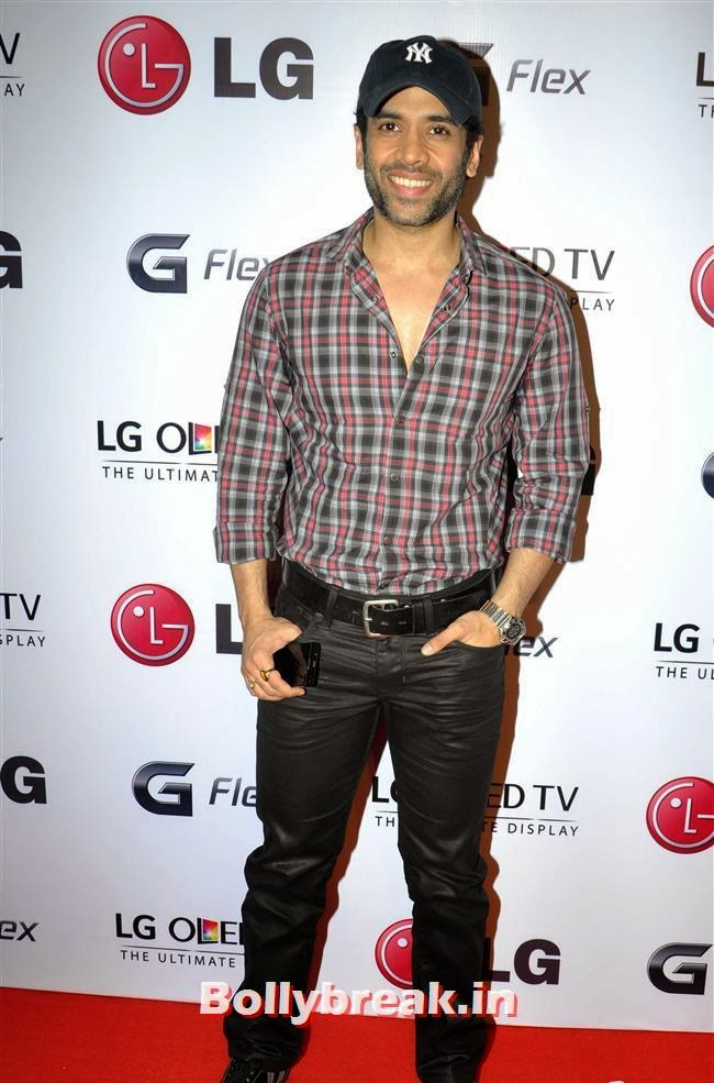 Tusshar Singh, Celebs at LG G Flex Smartphone Launch