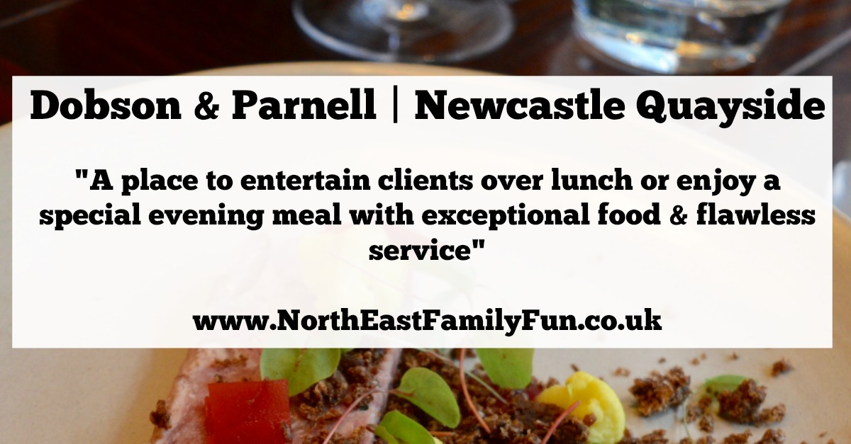 Dobson and Parnell Newcastle Menu Review