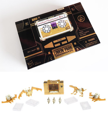 Linkin Park x Transformers Soundwave Special Edition Action Figure Packaging