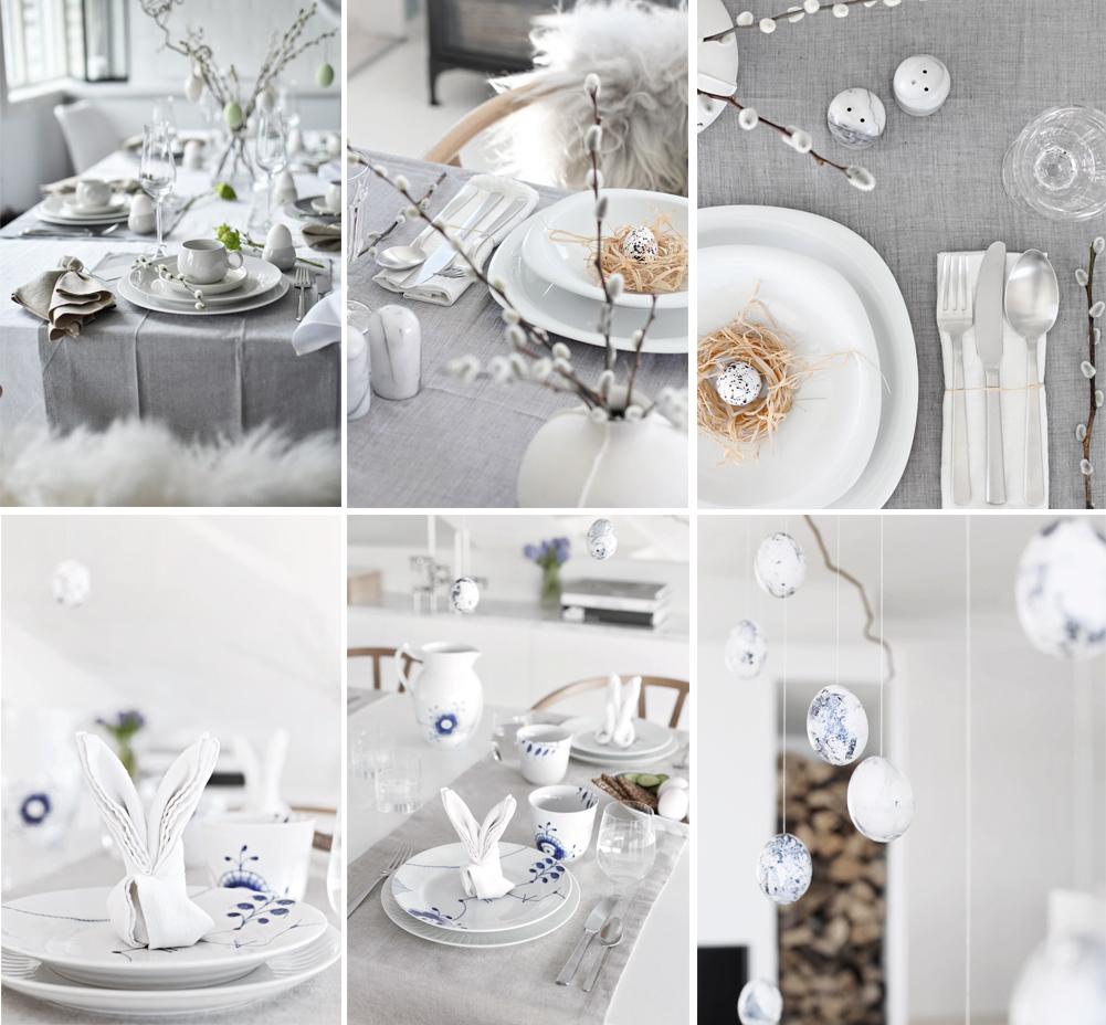 decorar mesa de pascuas estilo minimalista semana santa happy easter