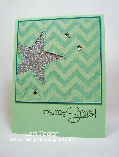 Oh, My Stars-designed by Lori Tecler/Inking Aloud-stamps and dies from Lil' Inker Designs