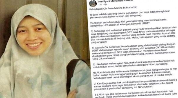 Doktor Tulis Surat Terbuka Kepada Anak Mahathir Bakal Dikenakan Tindakan