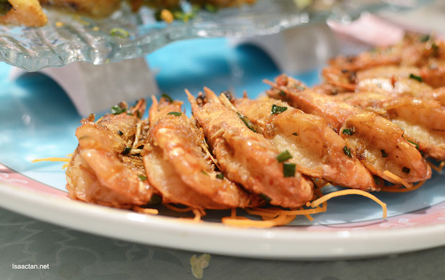 Wok Fried Himalayan Salt & Chili Sea Prawns