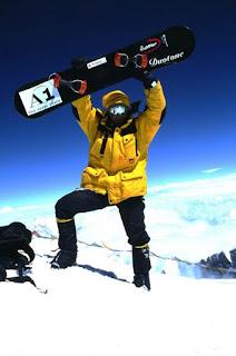 Marco Siffredy snowboard