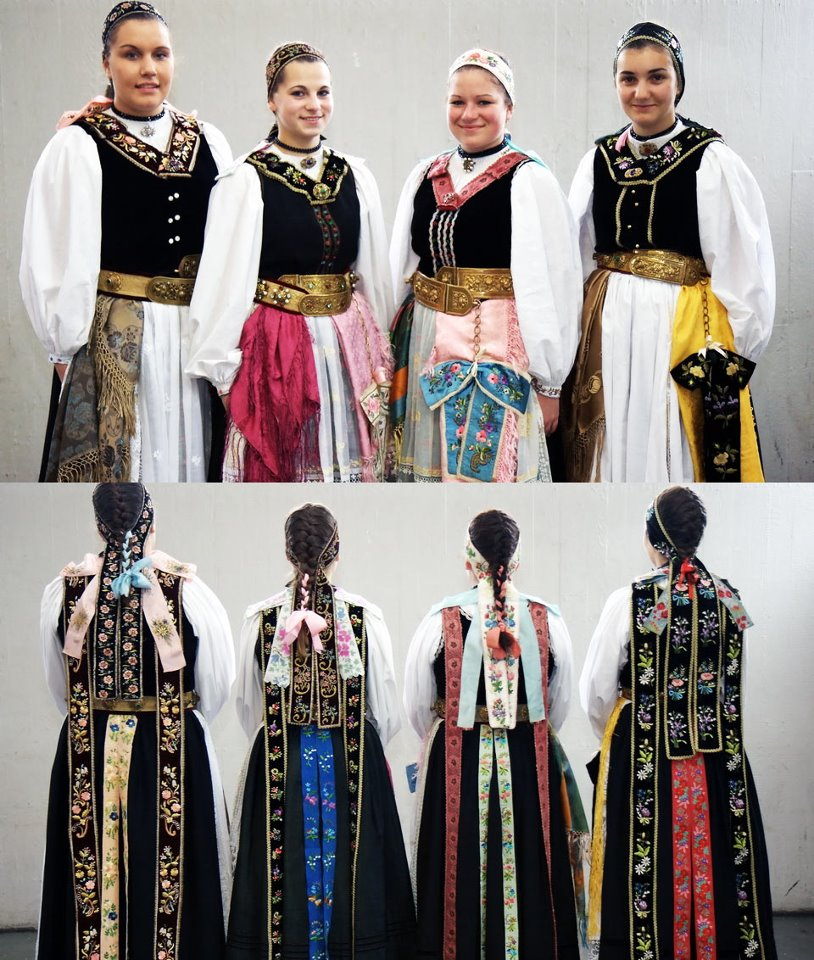 Traditional: FolkCostume&Embroidery: Overview Of The Peoples And