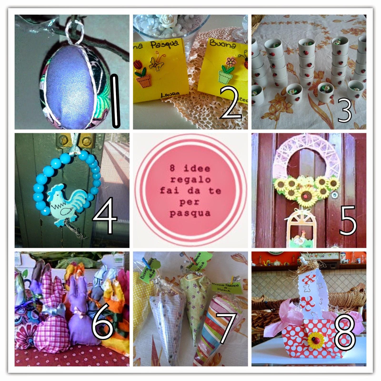 Soraya 39 s laboratory 8 idee regalo fai da te per pasqua for Regali per