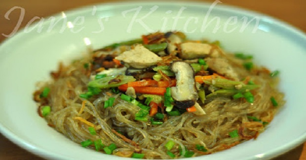 Chicken And Pork Vermicelli Recipe